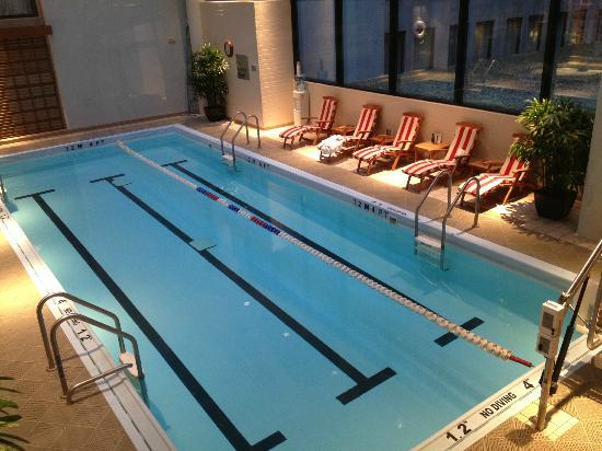 The Langham, Boston: Beautiful Indoor Swimming Pool