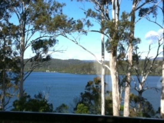 Merimbula Robyns Nest: Our view from our Cottage