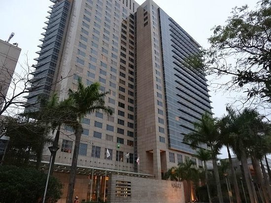 Grand Hyatt Sao Paulo: Hotel Building