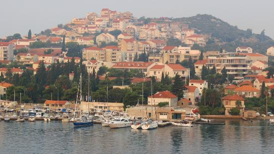 Dubrovnik-Neretva County, Croatia: Vista entrando en crucero