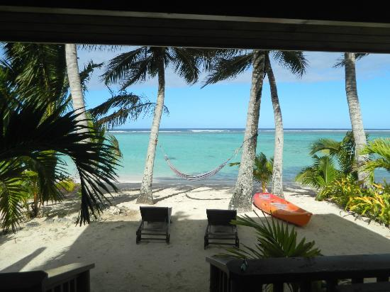 Bella Beach Bungalows: view from our verandah