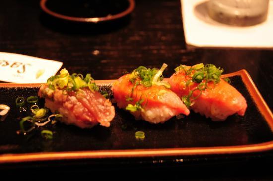 Sushi Sasabune: Negitoro.