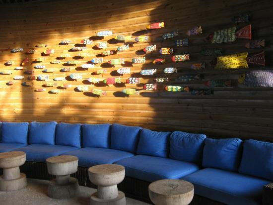 Zoetry Agua Punta Cana: Cool wall at Indigo