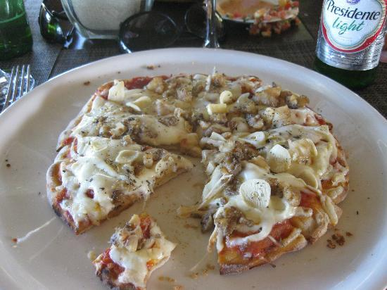 Zoetry Agua Punta Cana: Lobster pizza!