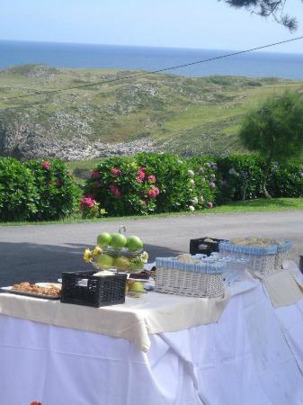 Migal Hotel Restaurant: terraza