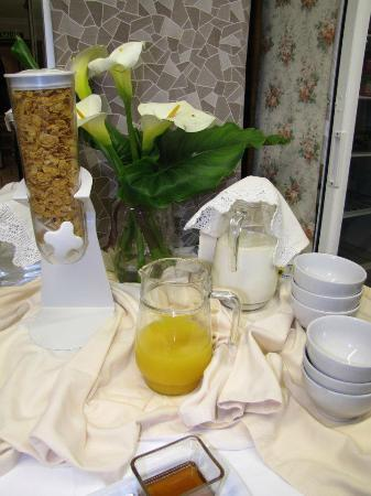 Migal Hotel Restaurant: Cereales y zumos