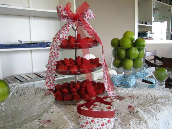 Migal Hotel Restaurant: frutas frescas