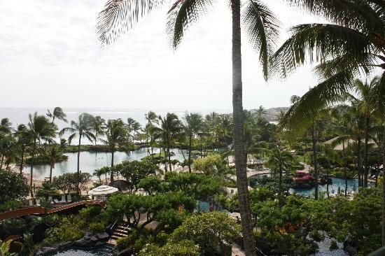 Grand Hyatt Kauai Resort & Spa: View From 6030 Deluxe Oceanview