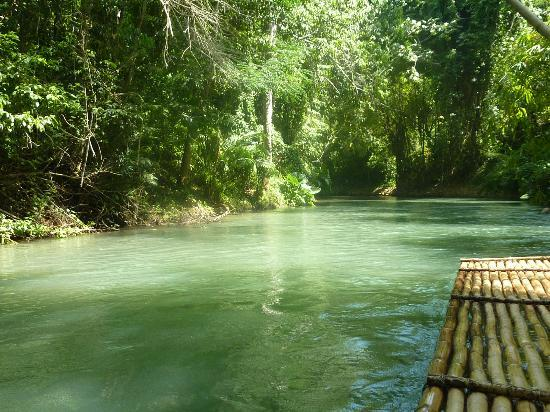 Turner Taxis and Tours Jamaica: Martha Brea River Rafting