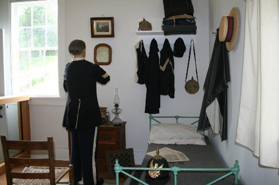 Officer's Quarters at Fort Mackinac