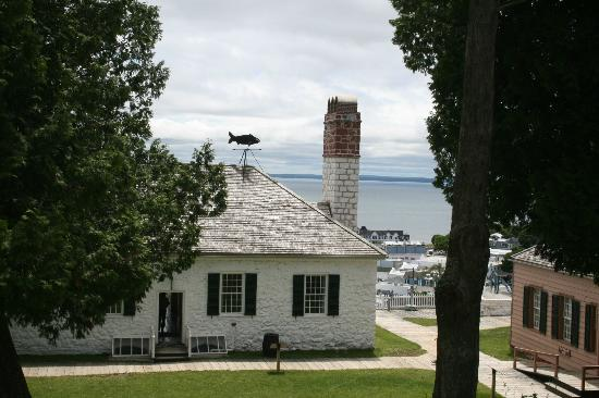 ‪‪Fort Mackinac‬: View from Fort Mackinac‬