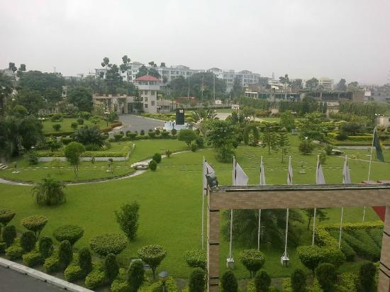 Bogra, Bangladés: View from room