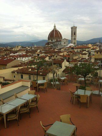 Grand Hotel Baglioni Firenze The Rooftop View