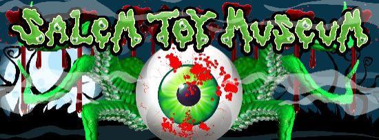 Salem Toy Museum: Museum Logo/Sign (Halloween)