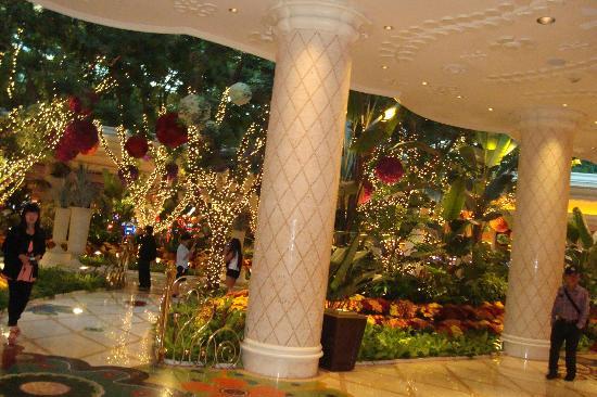 Wynn Las Vegas: lobby area