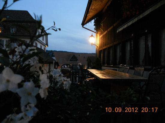 Hotel Gasthaus Hirschen : Outside Restaurant