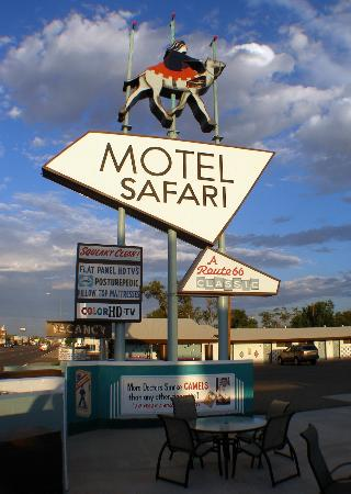 Motel Safari: Look for this sign