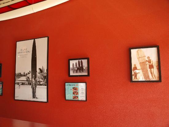 Taco Del Mar: Entry decor