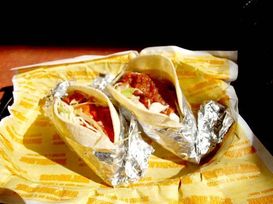 Taco Del Mar: Fish Tacos