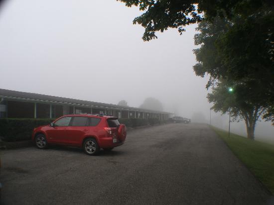 Wattstull Inn: Fog!