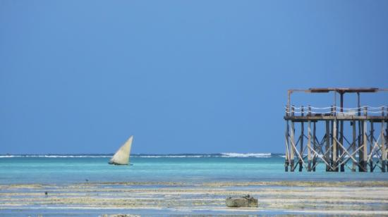 Essque Zalu Zanzibar: Jetty View from Beach