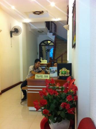 Green Diamond Hotel: reception