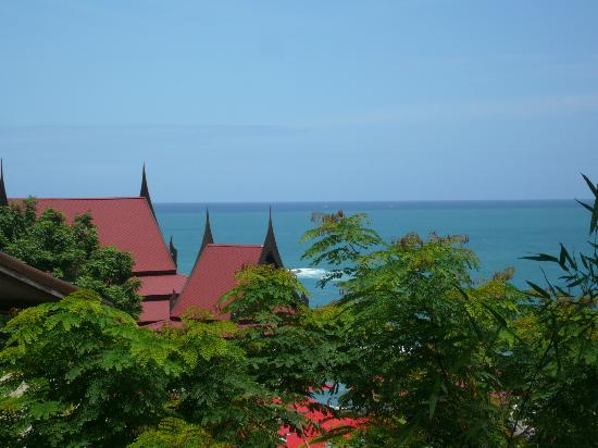 Aquamarine Resort & Villa: View from Villa 5 - Its actually closer in real life - lens makes it all look further away