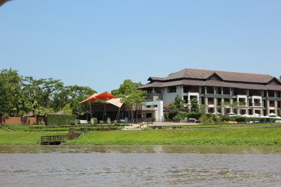 Le Meridien Chiang Rai Resort: Hotel view from the River