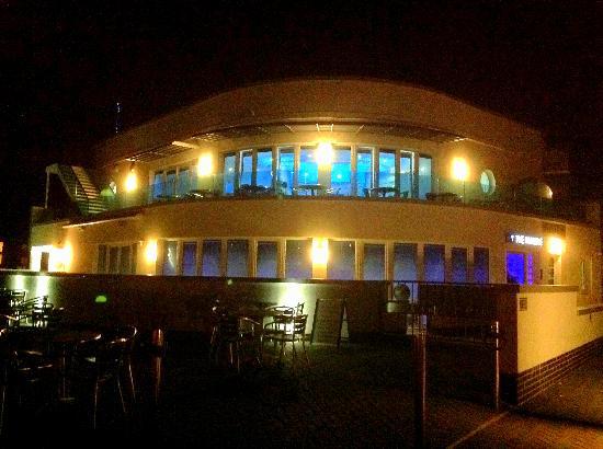 The Marine Cafe Brasserie & Bar: The Marine in Moonlight