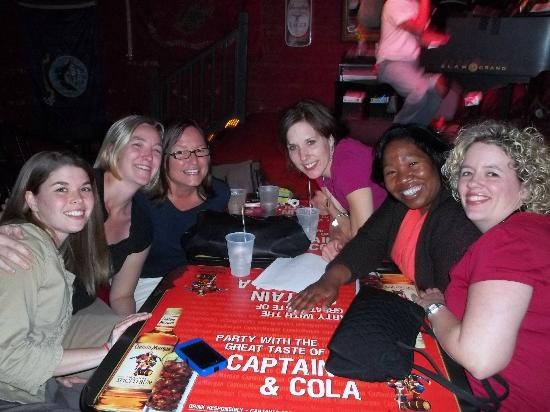 Savannah Smiles Dueling Pianos Saloon : Me with some of my coworkers