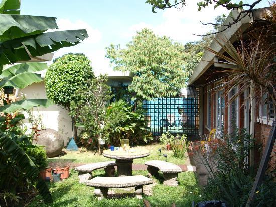 Hostel Bekuo: garden