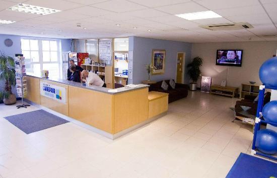 Carrefour Health Club: Reception.