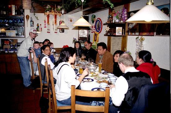 Bai Tong Thai-Restaurant: Our time at Baitong