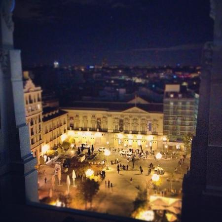 View Of Plaza Santa Ana From Hotel Rooftop Picture Of Me