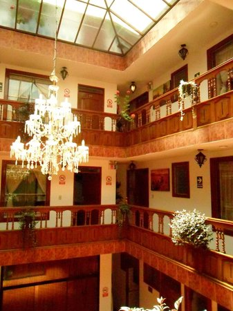 Hatun Wasi Hostal: hotel area