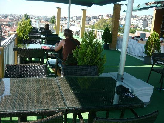 Best Western Antea Palace Hotel & Spa : Terrace