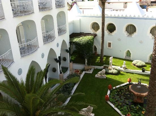 Terme Manzi Hotel & Spa : panorama dalla camera