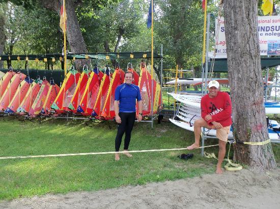 Claudio Lana  Professional Surf Center: Io e Claudio