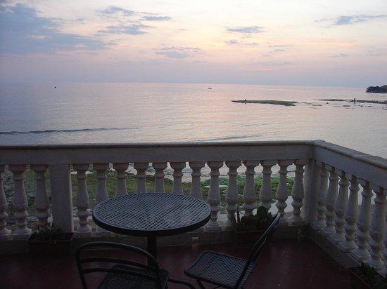 Punta Secca, Italien: il nostro tavolo della colazione