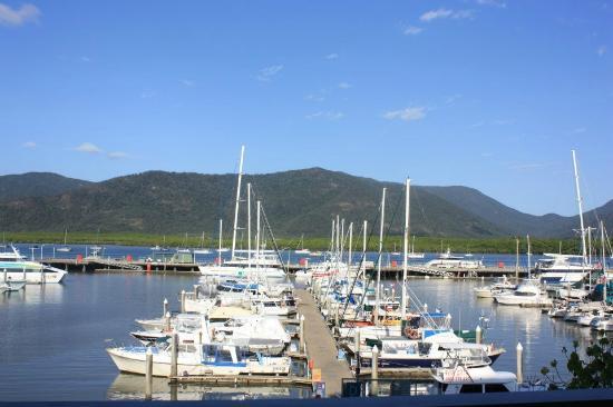 Shangri-La Hotel, The Marina, Cairns: shangri la marina  view