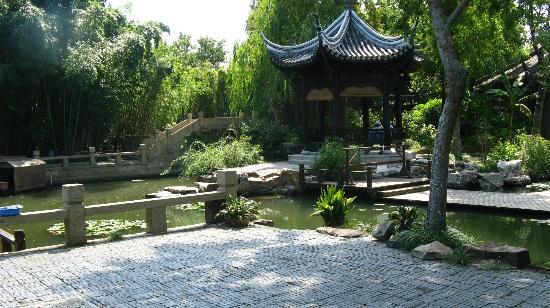 Zhujiajiao Ancient Town: Kezhi garden