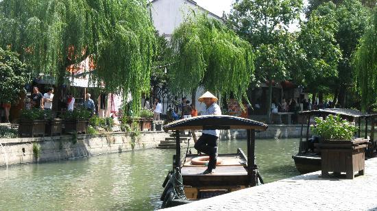 Zhujiajiao Ancient Town: gondola