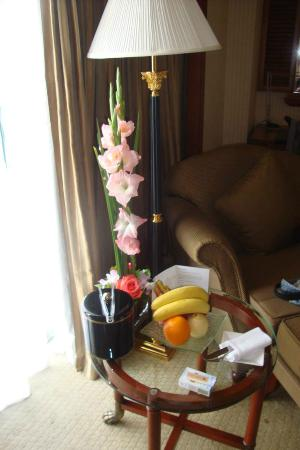 The Venice Hotel Shenzhen: Fruit basket