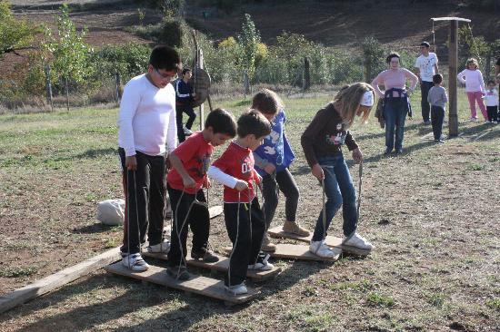 Camping Ribera del Chanza: Más juegos en familia