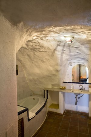 Apartamentos Montesclaros: baño cueva