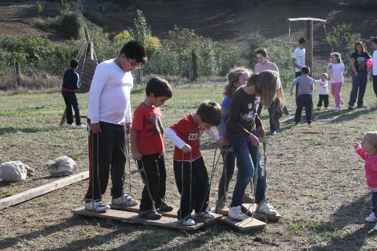 Camping Ribera del Chanza: Juegos tradicionales