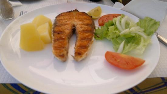 Churrasqueira o cofre: Le saumon grillé ... bof