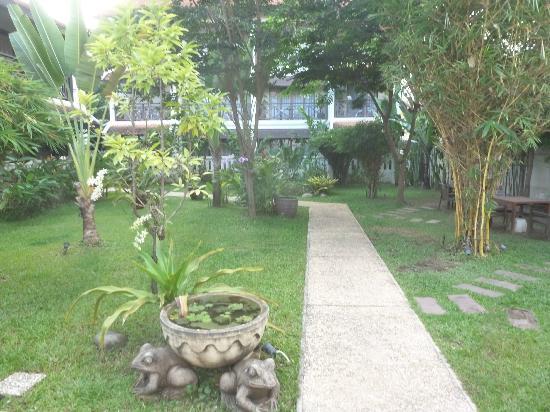 Ansara Hotel: The garden near the rooms.