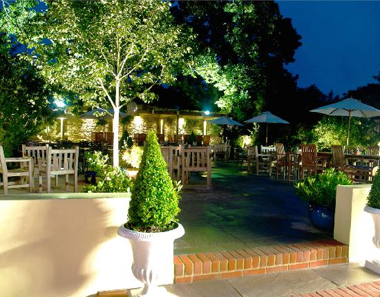 The Angel Inn: The Garden at The Angel