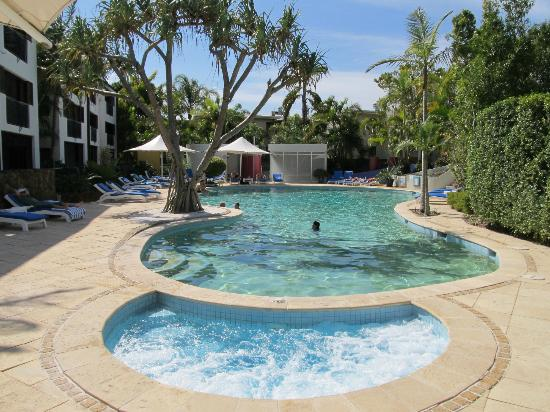 Noosa Blue Resort: Spa and pool